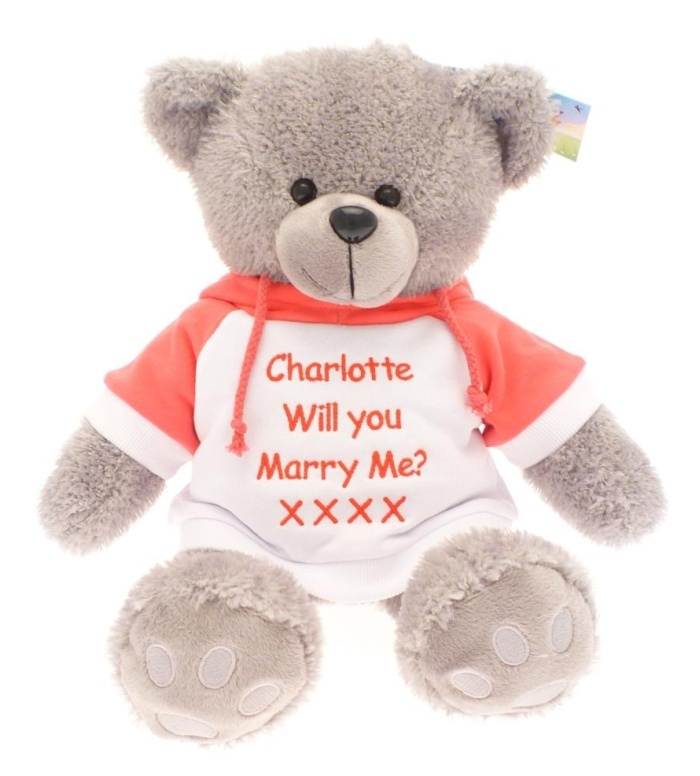 27 best personalised teddy bears gifts images on pinterest marry me personalised teddy bears unique gifts idea negle Gallery
