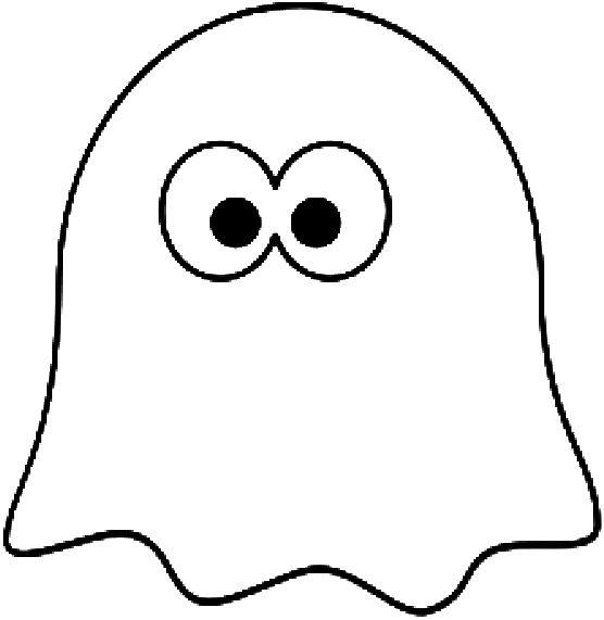 Le fantome de 556 571 pixels coloriages pinterest coloring coloring pages - Coloriage pac man ...