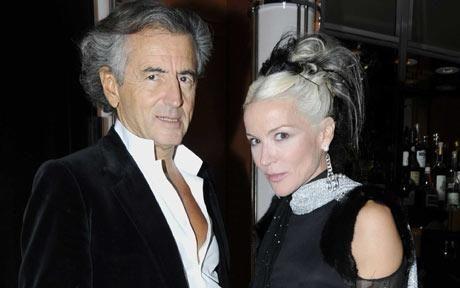 Whoa.... Daphne Guinness's move with Bernard-Henri Lévy leaves bitter taste for Arielle Dombasle