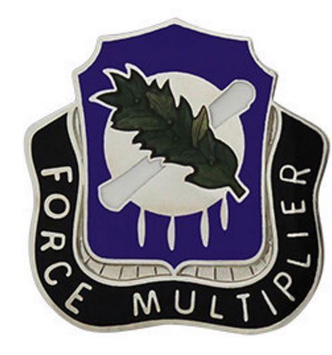 486th Civil Affairs Battalion Unit Crest (Force Multiplier)