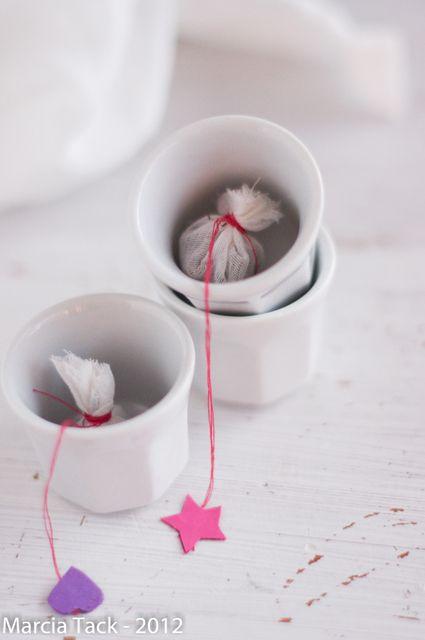Comment fabriquer de jolis sachets de thé ? -DIY- Marcia 'Tack