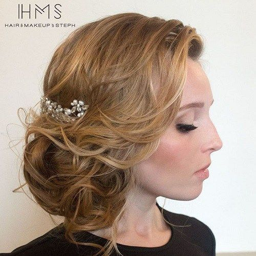 casual hair styles best 20 wedding side buns ideas on bridal 2915