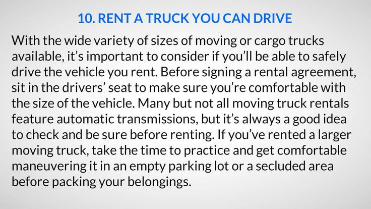 Renting a Truck #Affordable #Boat and #RV #Storage