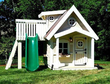 An Upsized Residence Playhouse