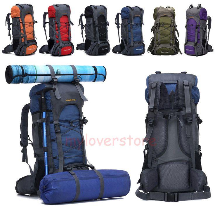 Outdoor Camping Trekkingrucksack Rucksack Sporttasche Backpack Reisetasche DE