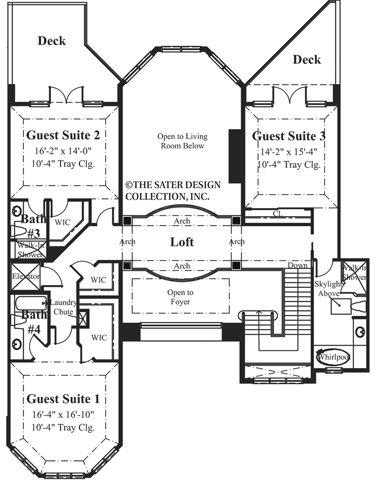 46 best floor plans images on pinterest dream house for Lucky 4 ranch floor plan