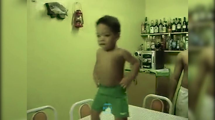 Brazilian boy funniest Friday dance
