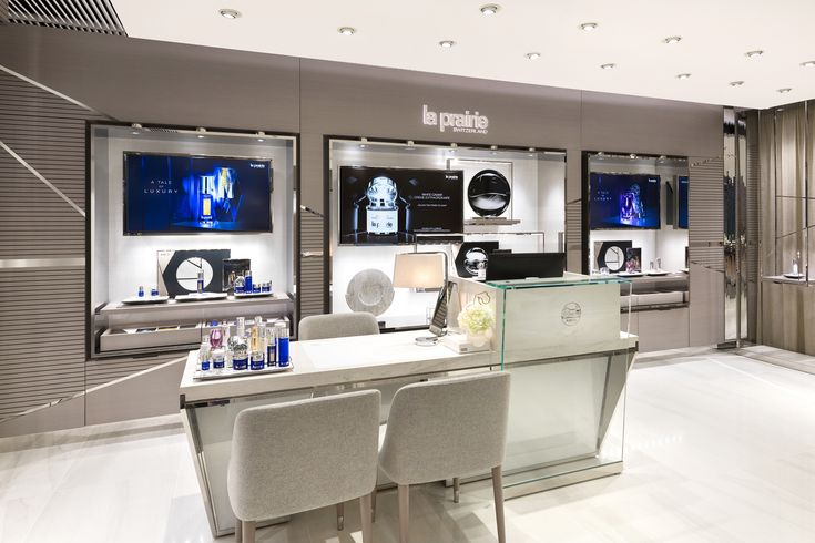 """다음 @Behance 프로젝트 확인: """"La Prairie Hong Kong. Elements Shop Interior"""" https://i0.wp.com/www.behance.net/gallery/73930953/La-Prairie-Hong ..."""