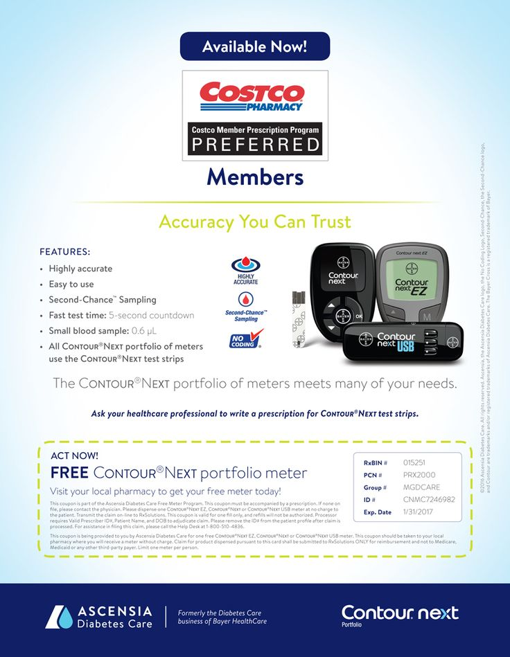 Free Bayer Contour®Next Meter Coupon - Winter 2016 Issue | CDiabetes Online Magazine from CostCo. exp 1/31/2017