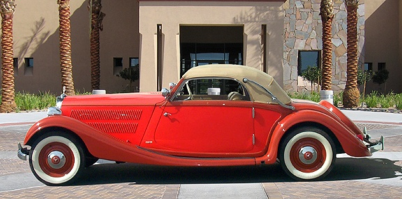 1938 MERCEDES BENZ 320 CABRIOLET A