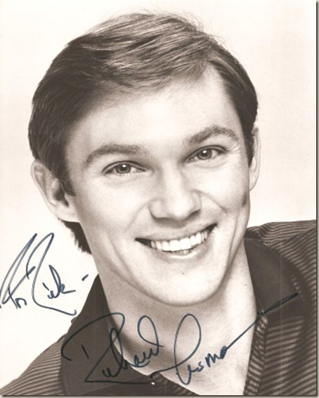Richard Thomas, even though he is old now...He was so beautiful when he was younger.
