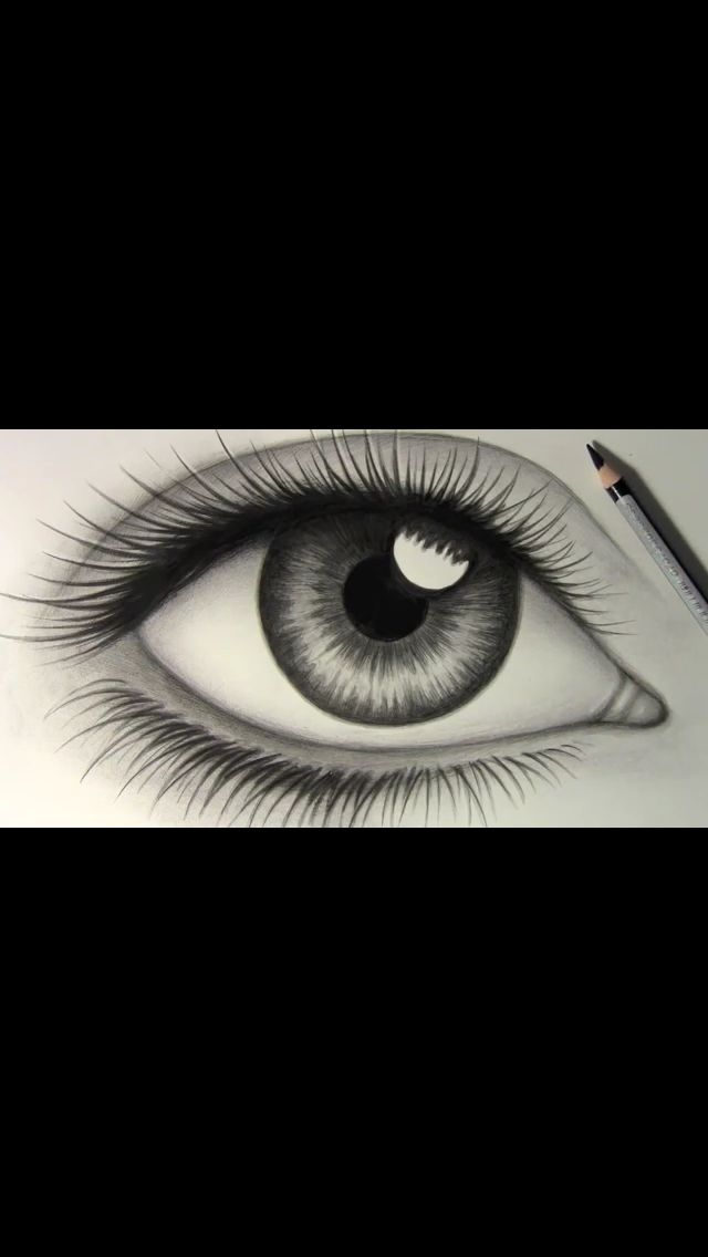 Realistic eye I like drawing eyes I've found this one it's the same as my drawing I've done but I just love realistic drawings