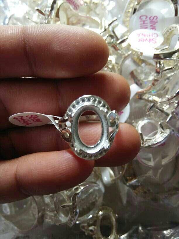 Cincin Silver Cina +Zikron (import)