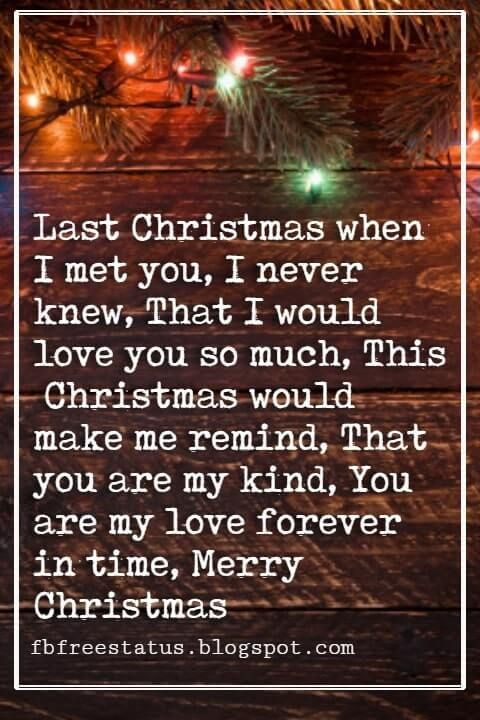 Merry Christmas Love Quotes Messages With Images My Quotes