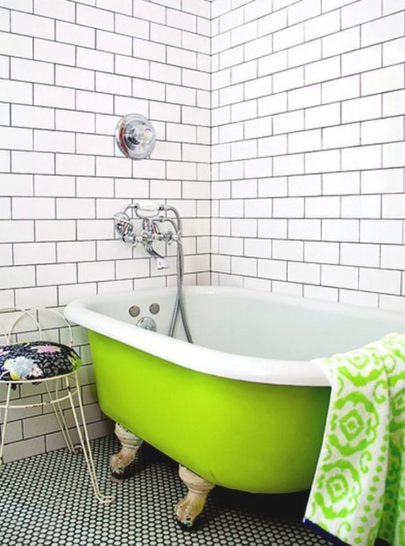 Relax and take a soak with key lime