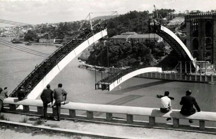 ponte da arrabida | Porto (1961)