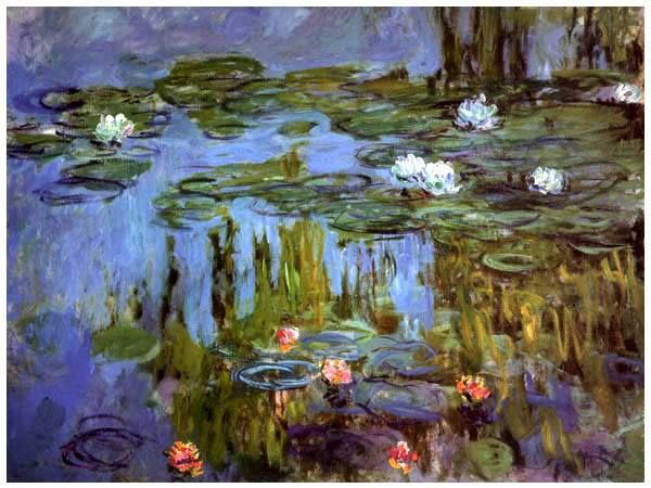 Water-Lilies, 1915-- Claude Monet