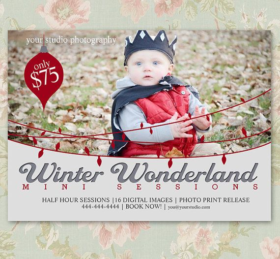 16 Best Mini Session Templates Images Photography