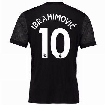 Fotbollströjor Manchester United 2017-18 Zlatan Ibrahimovic 10 Bortatröja
