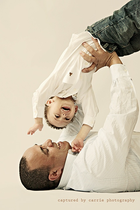 {Father-Son Portrait}  Image by © Captured By Carrie Photography  http://www.facebook.com/CapturedByCarriePhotography