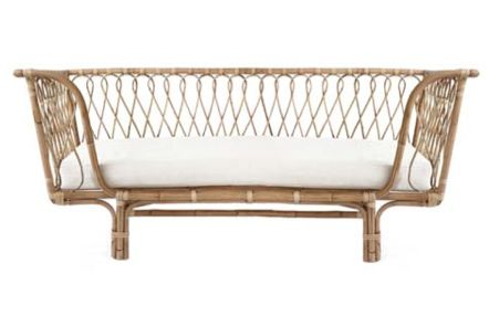 Sold out, order now for February 17 shipment. This beautiful daybed will have you daydreaming about lounging in your surrounds each and every day.  Or create a
