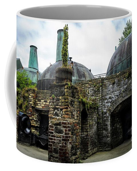 Giant Copper Pot Stills At Lockes Distillery coffee mug by RicardMN Photography