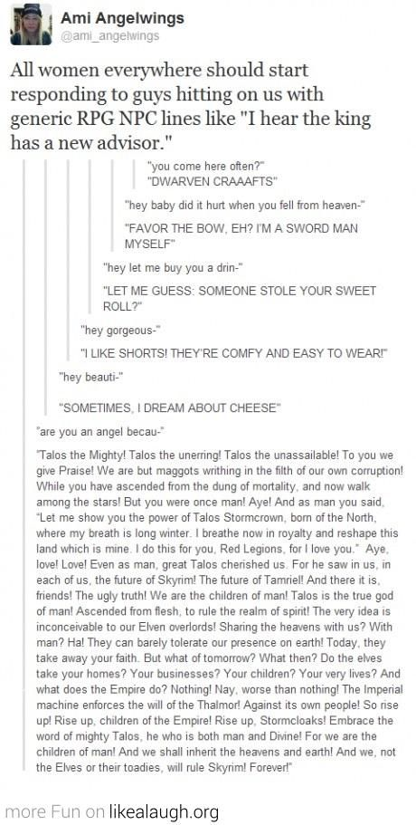 "Yes!!!!!!!!!!!!!!!!!!!!!!!!!!!!!!!! Love them all! But especially ""sometimes I dream about cheese"""