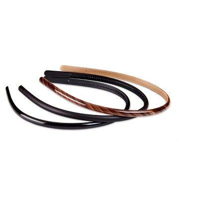 Scunci No Slip Skinny Headbands - 3pk,