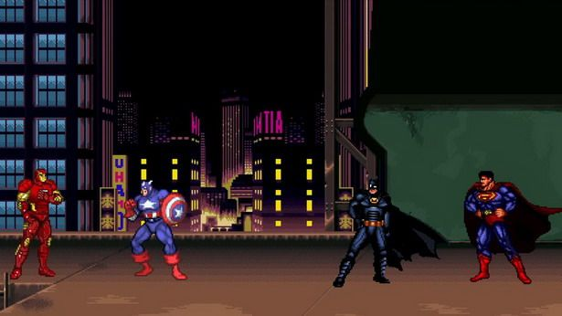 Dawn of Civil War, divertido video de superheroes