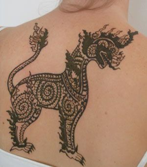 How to transfer henna stencils (I'm not into henna stencils, but I'd like to try it to make tattoos for the fam)