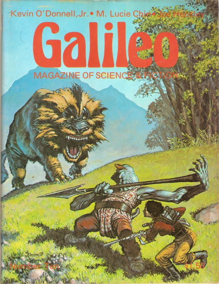 Galileo Magazine of Science Fiction 10 by Francopuces on Etsy