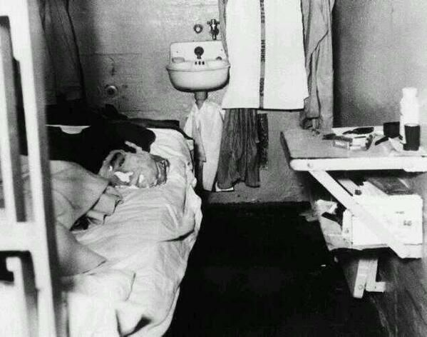 Dummy head used by John Anglin to fool prison guards while he and two other convicts escaped Alcatraz. 1962.