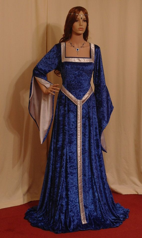 ELVEN DRESS medieval dress renaissance dress by camelotcostumes