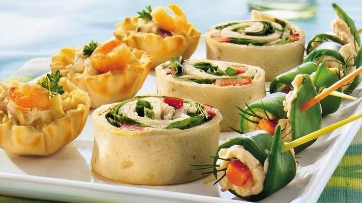 Seafood Salad Tartlets recipe ~ Free food recipes