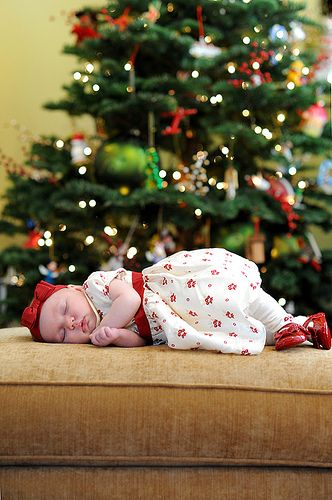 christmas baby photo. In case our baby is born before the new year