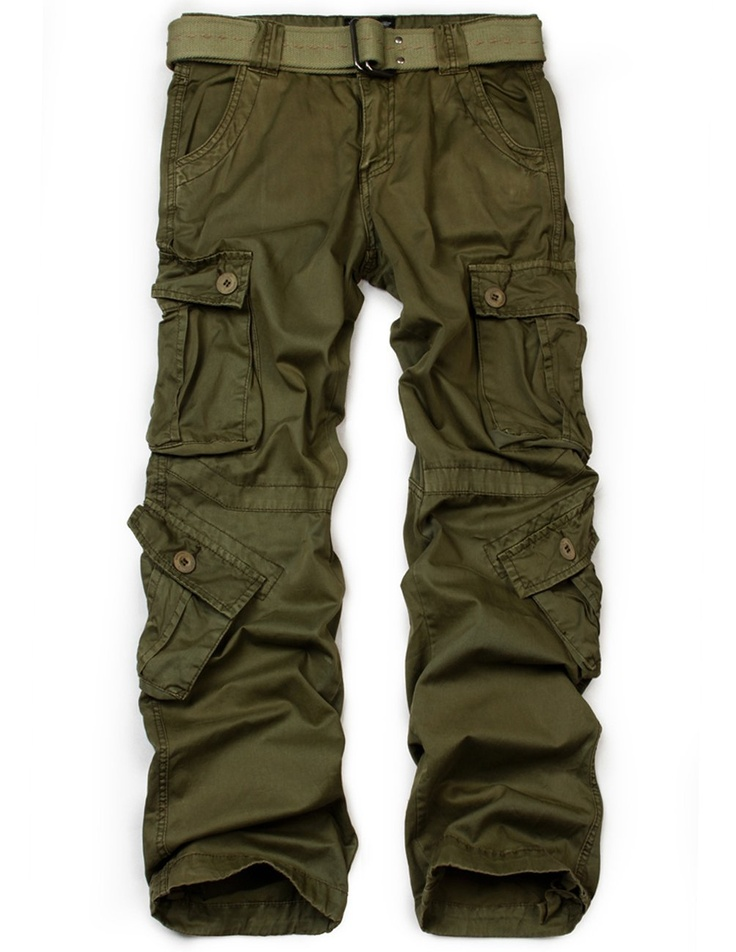 Amazon.com: Match Men's Military Cargo Pants Plus Size Multi-pockets Utility Cargos #3357: Clothing