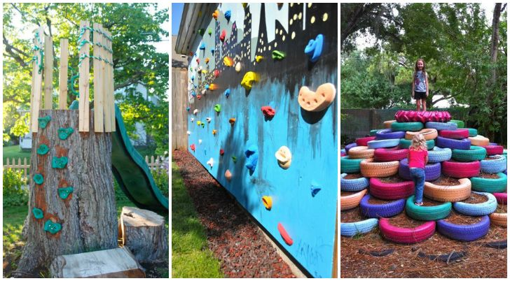 15 Backyard Play Space Ideas For Kids - The Realistic Mama