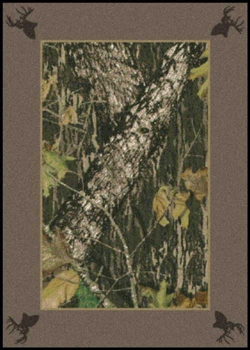 realtree border x camo hardwoods rug rugs trading area yhst solid