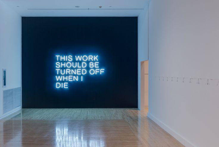 THIS WORK SHOULD BE TURN OFF WHEN I DIE (2011) / by Stefan Brüggemann