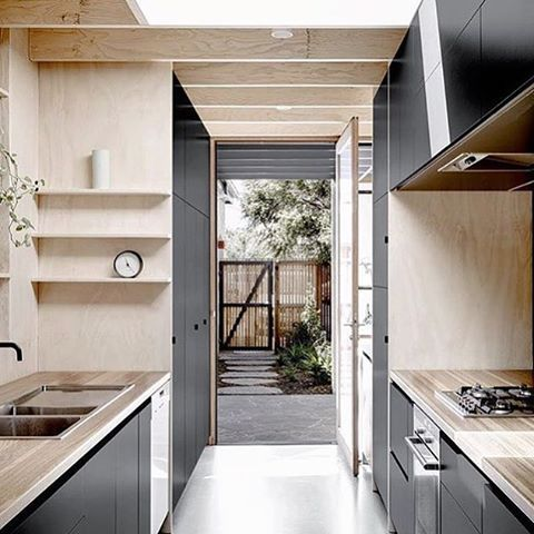K I T C H E N • E N V Y•• || melbourne living || Kitchen crushing curtesy of @meanwhile_in_melbourne  Designed by @robkennon  by @brookeholm #interiordesign #architecture #kitchen #style #design #styling  #designinspiration #melbourne #wood #concrete #melbournedesign #interiorstyle