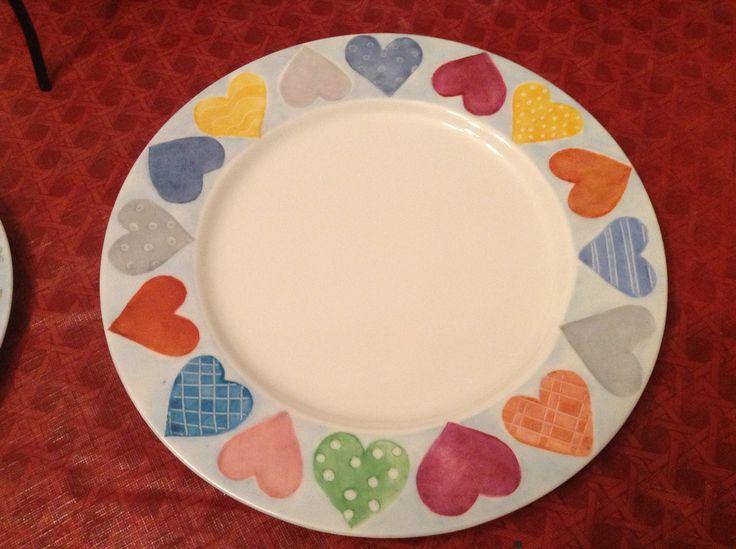 17 mejores ideas sobre platos pintados en pinterest - Platos de ceramica ...