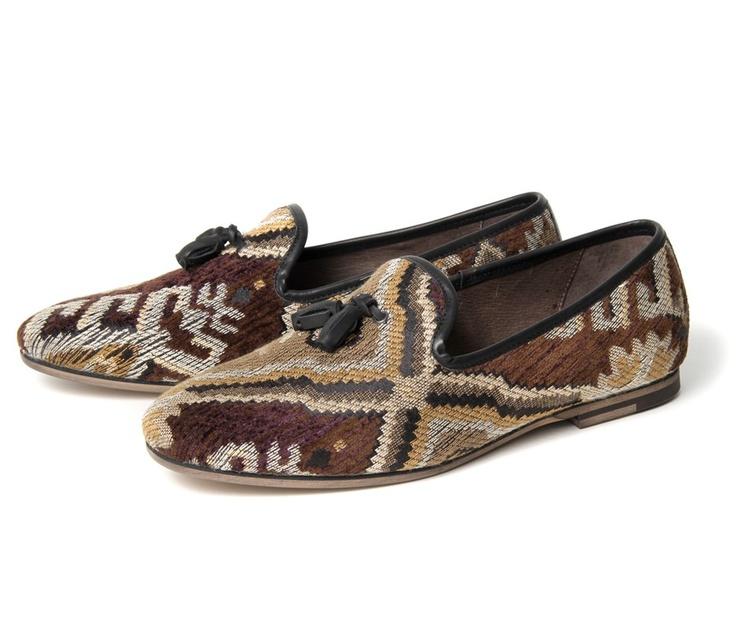 beautiful slip-on tassel Loafers by Sayah Black