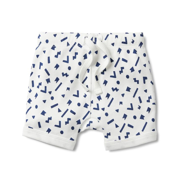Summer shorts for baby boy, our geo play shorts are so comfy and soft. Available in sizes newborn to 1.  #wilsonandfrenchy #babystyle #newborn #shorts #babyboy #baby #fashion #unisex #babylove #perfectbabies  #unisexbabyclothes  #newmum #babygift #babyshower #australiandesign #shopbaby #mumsunite #babylove #magicofchildhood #little