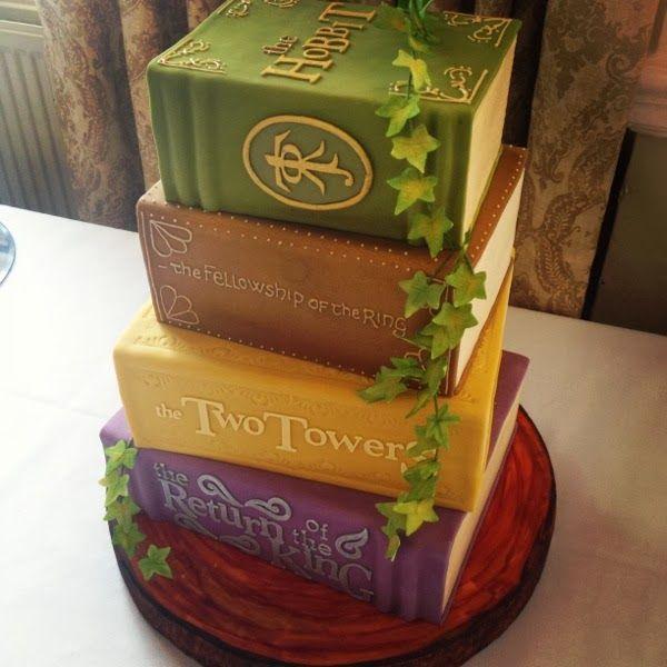 J.R.R. Tolkien cake