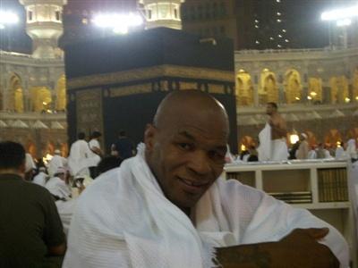 Mike Tyson on Hajj 2010