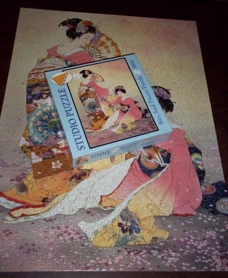 Haruyo Morita Hutari Mai Jigsaw Puzzle 1000 Piece Bits and Pieces  | eBay