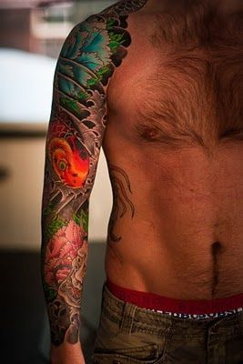 17 best ideas about japanese sleeve tattoos on pinterest for Tattoos on old saggy skin