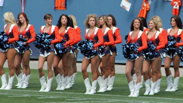 Denver, Broncos, Cheerleaders ...