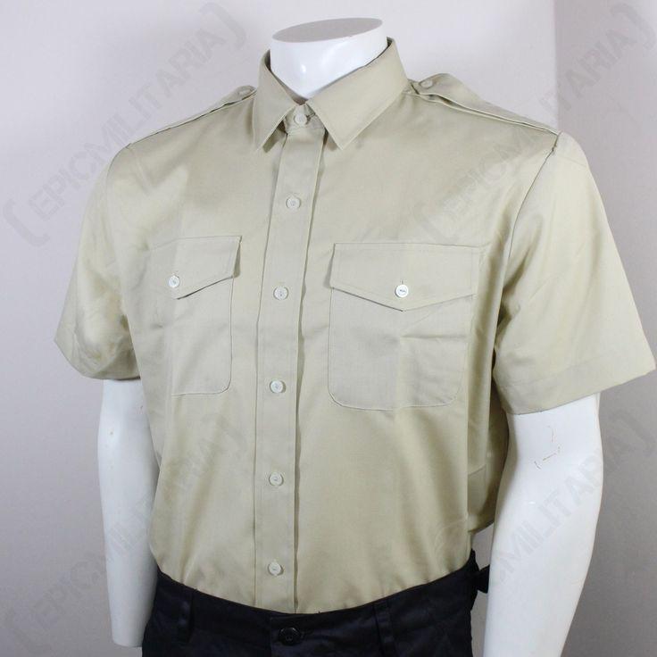 British Army Fawn Shirt - Short Sleeve