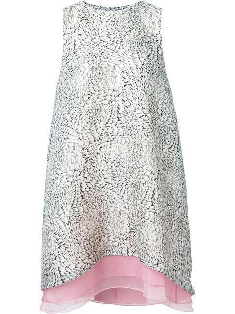Carolina Herrera многослойное платье шифт